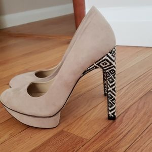 Cream Zara heels